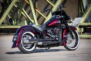 Harley Davidson Softail heritage Chicano Coustom 032