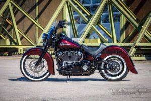 Harley Davidson Softail heritage Chicano Coustom 054
