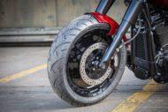 Harley Davidson Fat Boy rot Custom Ricks 001