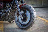 Harley Davidson Fat Boy rot Custom Ricks 006
