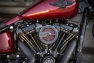 Harley Davidson Fat Boy rot Custom Ricks 020