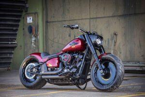 Harley Davidson Fat Boy rot Custom Ricks 024