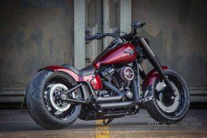 Harley Davidson Fat Boy rot Custom Ricks 027