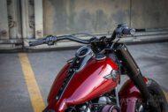 Harley Davidson Fat Boy rot Custom Ricks 040