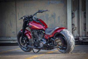 Harley Davidson Fat Boy rot Custom Ricks 042