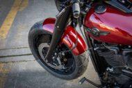 Harley Davidson Fat Boy rot Custom Ricks 048