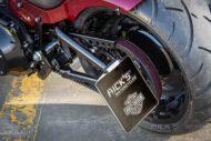 Harley Davidson Fat Boy rot Custom Ricks 052