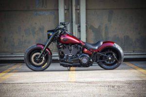 Harley Davidson Fat Boy rot Custom Ricks 056