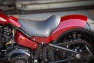 Harley Davidson Fat Boy rot Custom Ricks 058