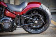 Harley Davidson Fat Boy rot Custom Ricks 059