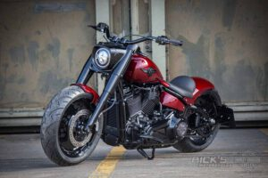 Harley Davidson Fat Boy rot Custom Ricks 066