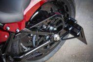 Harley Davidson Fat Boy rot Custom Ricks 068