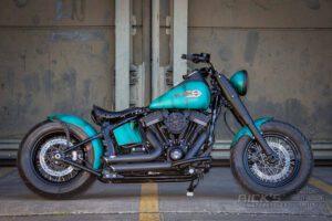 Harley Davidson Slim Bobber TwinCam Ricks Softail 010