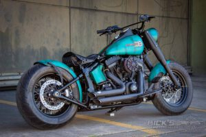 Harley Davidson Slim Bobber TwinCam Ricks Softail 017