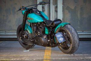 Harley Davidson Slim Bobber TwinCam Ricks Softail 026
