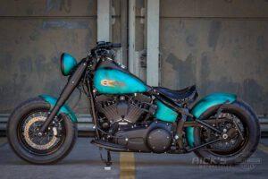 Harley Davidson Slim Bobber TwinCam Ricks Softail 037