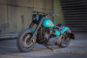 Harley Davidson Slim Bobber TwinCam Ricks Softail 042