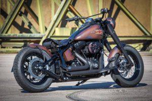 Harley Davidson Twin Cam Softail Slim Bobber Ricks 026