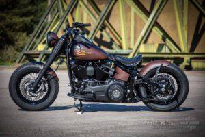 Harley Davidson Twin Cam Softail Slim Bobber Ricks 046
