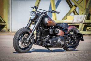 Harley Davidson Twin Cam Softail Slim Bobber Ricks 056