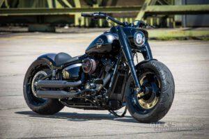 Harley Davidson fat boy Custombike Ricks 001