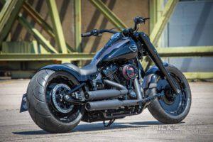 Harley Davidson fat boy Custombike Ricks 020