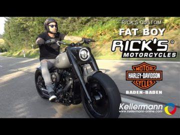 Rick's Harley-Davidson Fat Boy
