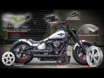 2018 Milwaukee Eight Softails, Custom Parts + Bikes